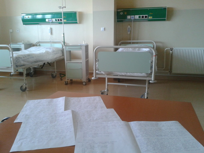 eBook, nemocnice